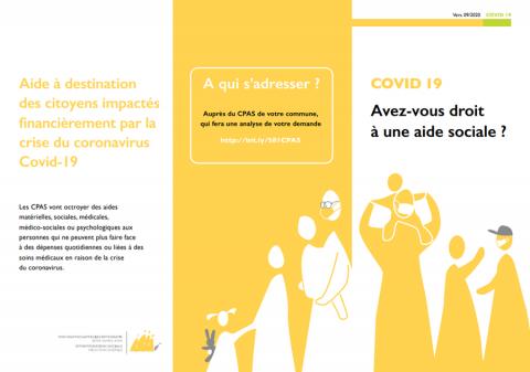 Photo de la brochure COVID-19