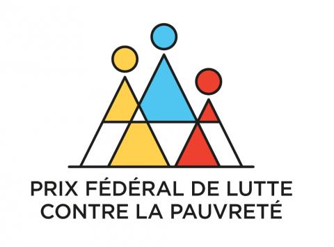 Logo du prix fédéral de lutte contre la pauvreté