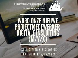 Vacature: projectmedewerker digitale insluiting