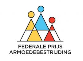 Logo van de Federale Prijs Armoedebestrijding